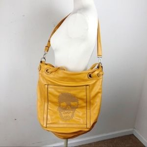 Faux Leather Skull Bag